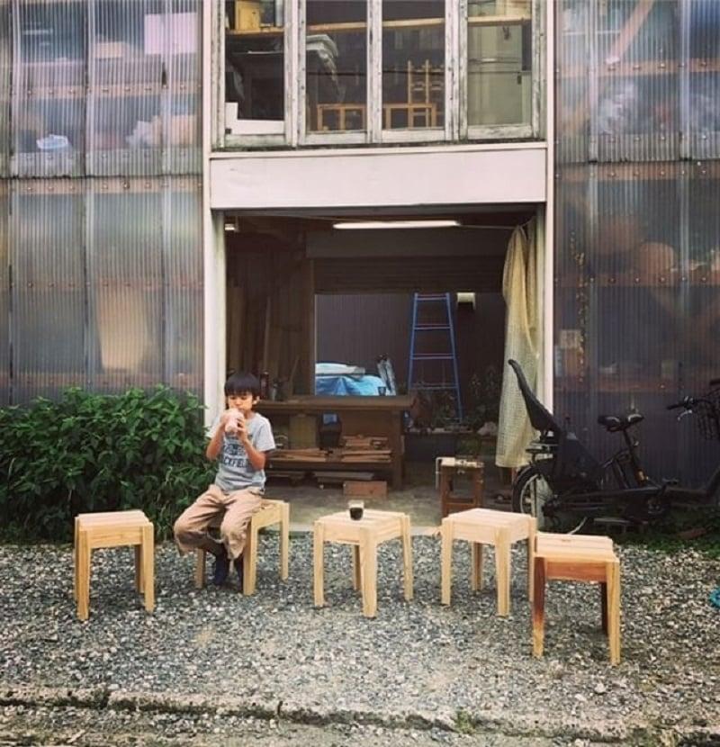 無印良品在武藏野美術大學的工作坊,可讓學生免費使用