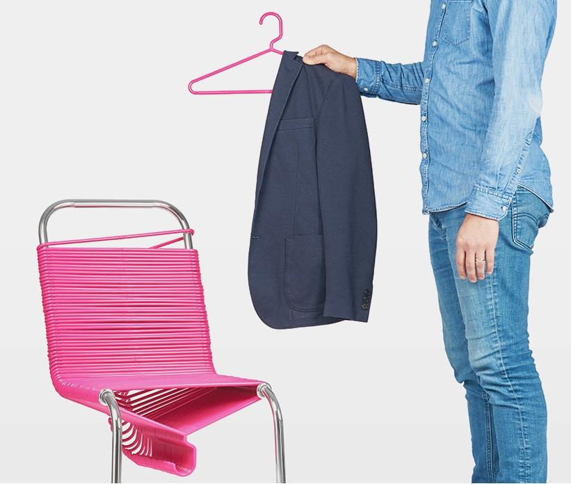 衣服習慣堆放椅子上?看看進化版